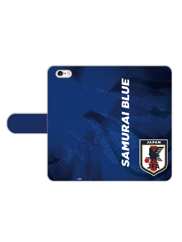 スマートフォンカバーブックタイプC サッカー日本代表ver.