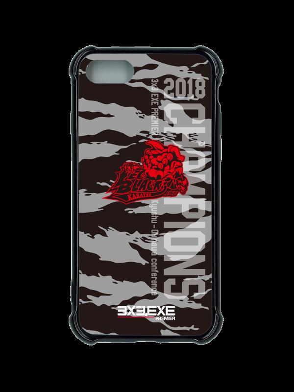 スマートフォンケース ハイブリッドタイプ KARATSU LEO BLACKS.EXE