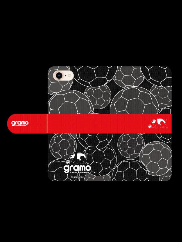 gramoスマートフォンケース ブックタイプA