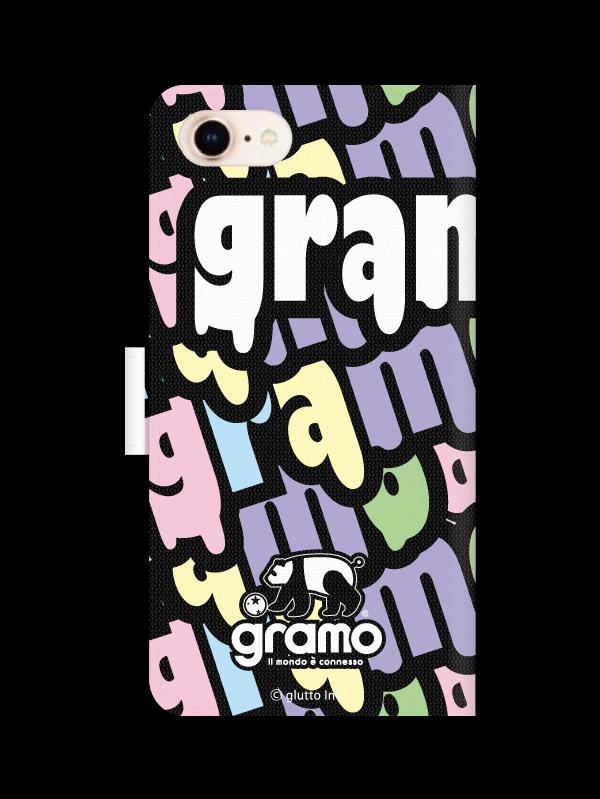 gramoスマートフォンケース ブックタイプD