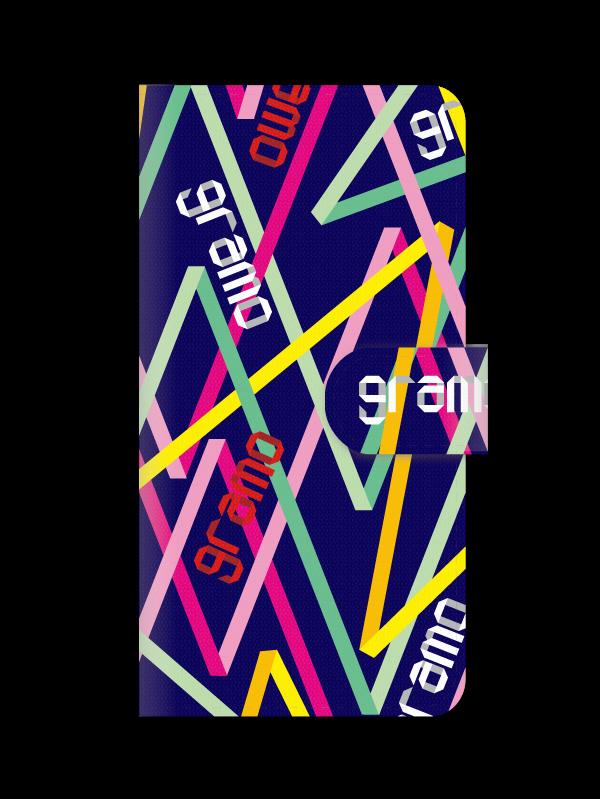 gramoスマートフォンケース ブックタイプE