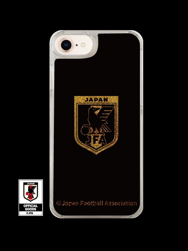 グリッタースマートフォンケースA サッカー日本代表ver.